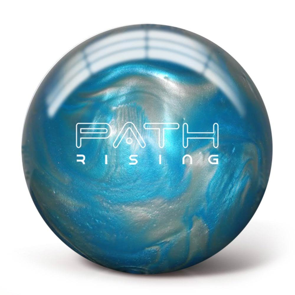 Pyramid Path Rising Pearl Bowling Ball (Aqua/Silver, 8 LB)