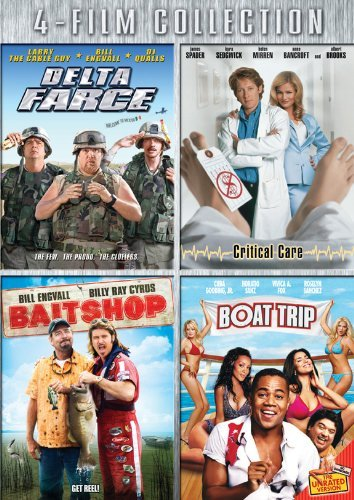 Four-Film Collection (Delta Farce / Critical Care / Bait Shop / Boat Trip) by Larry the Cable Guy
