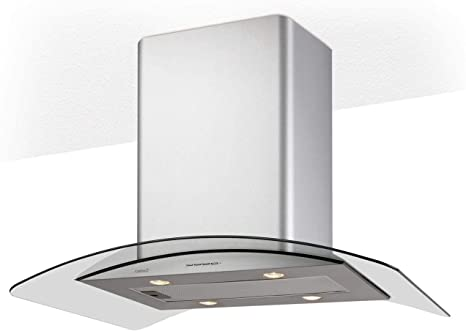 CAMPANA, ISLA GAMMA 900 X /D: 356.78: Amazon.es: Grandes electrodomésticos