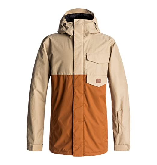 d2aa24652 DC Men's Merchant 10k Water Proof Snow Jacket