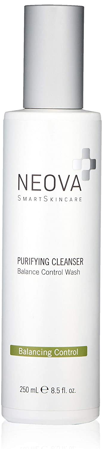 NEOVA SmartSkincare Purifying Cleanser unclogs pores, controls oil and exfoliates with BHA, all without stripping moisture levels. For all skin types with troubled and oil-prone conditions.