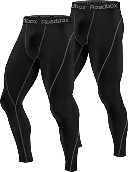 Mens Workout Athletic Bottoms Stretchy Sport Tights Gym Skin Compression Shorts