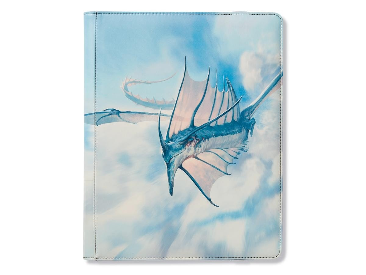 Binder: Dragon Shield 18 Pocket (Sideload) Portfolio: Strata Sky Blue Arcane Tinman AT-34219