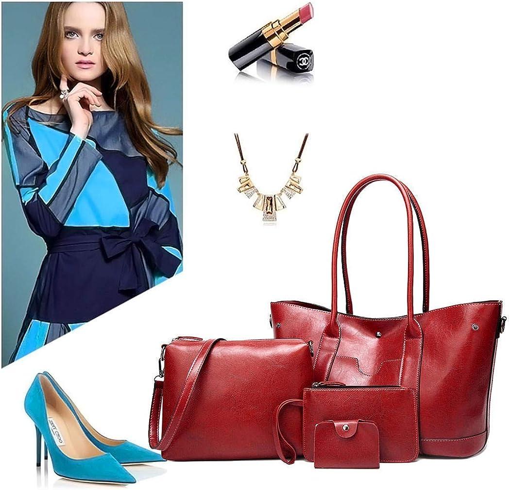 Zhao Liang Women Totes Handbags Shoulder Bags PU Leather Hobo Crossbody Bags Wallets Purses 3pcs Set