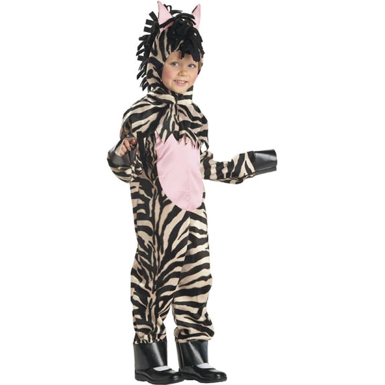 amazoncom childs toddler zebra halloween costume 2 4t clothing - Halloween Costumes 4t