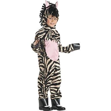 Childu0027s Toddler Zebra Halloween Costume ...  sc 1 st  Amazon.com & Amazon.com: Childu0027s Toddler Zebra Halloween Costume (2-4T): Clothing