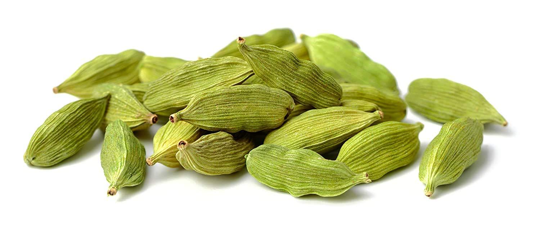 Green Cardamom Pods (Hari Elachi) 3.5oz (100g) Whole Indian Spice | Elettaria Cardamomum