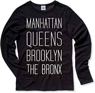 product image for Hank Player U.S.A. New York Boroughs Women's Long Sleeve T-Shirt