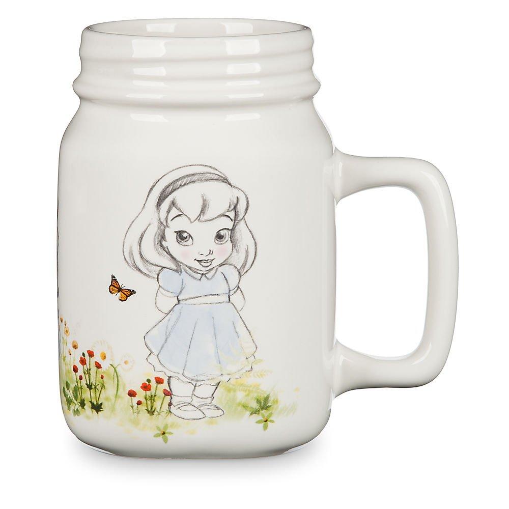 Disney Animators' Collection Princess Mason Jar Ceramic Mug by Disney