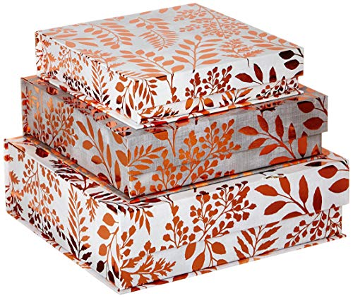 Punch Studio Nested Box Set with Copper Lilac & Sage (43812N)