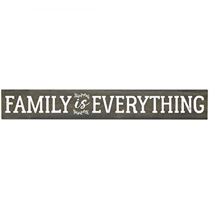 Amazon Com Family Is Everything Inspirational Pine Block
