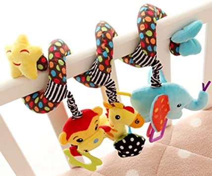 Opinión sobre Singring Baby Pram Crib Spiral Plush Toy Stroller by Singring