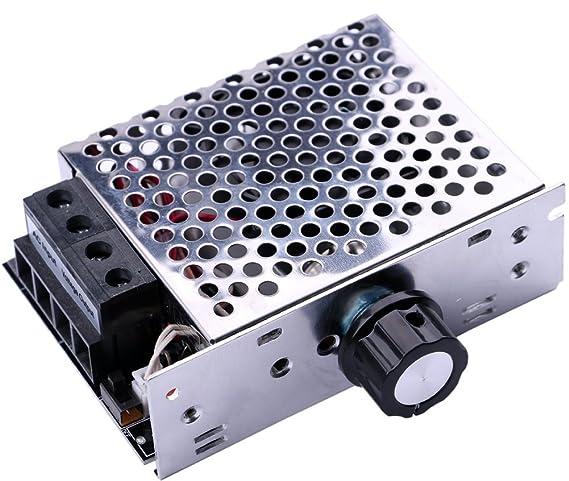 Yeeco Electrónico SCR Alto Voltaje Regulador de Voltaje Velocidad Gobernador Termostatos Regulador de Intensidad Motor Controlador