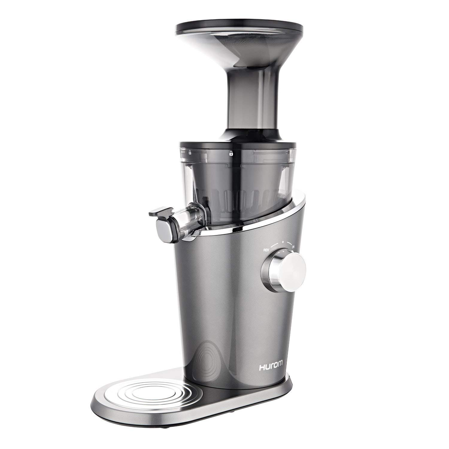 Hurom H-100-DBDA01 150-Watt Slow Juicer (Titanium Grey)