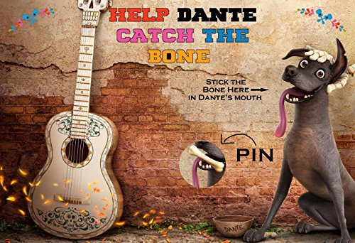 SGG Coco Movie Themed Party Supplies Game - Help Dante Catch the Bone by SGG