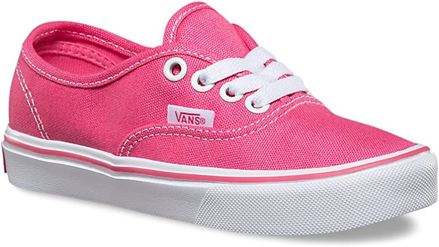 Vans Authentic Lite Hot PinkWhite Girl's Sneakers Shoes
