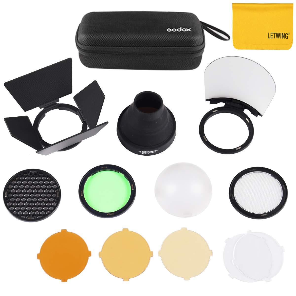 Godox AK-R1 Pocket Flash Light Accessories Kit for Godox H200R,Godox AD200 Accessories