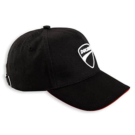 6cd66b154 Amazon.com: Ducati Company Hat Black: Automotive