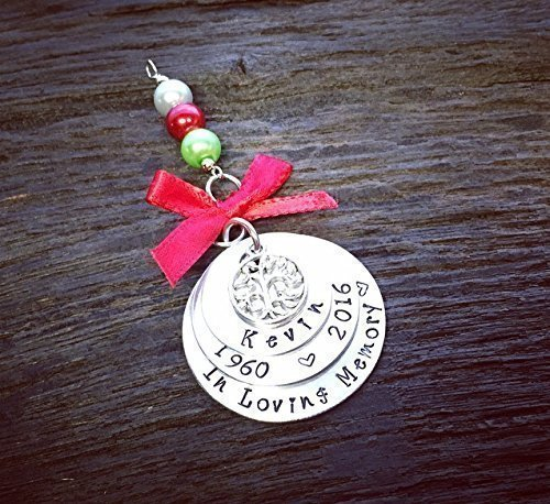 Loved One Memorial Christmas Ornament | In Loving Memory Christmas Ornament | Remembrance Christmas Ornament | Keepsake Ornament | Sympathy Gift | Bereavement Gift