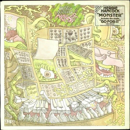 Herbie Hancock - Herbie Hancock - Monster - CBS - CBS 84237 - Amazon.com  Music