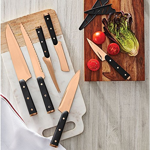 Tomodachi 12-Piece Titanium-Coated Cutlery Set (Copper)