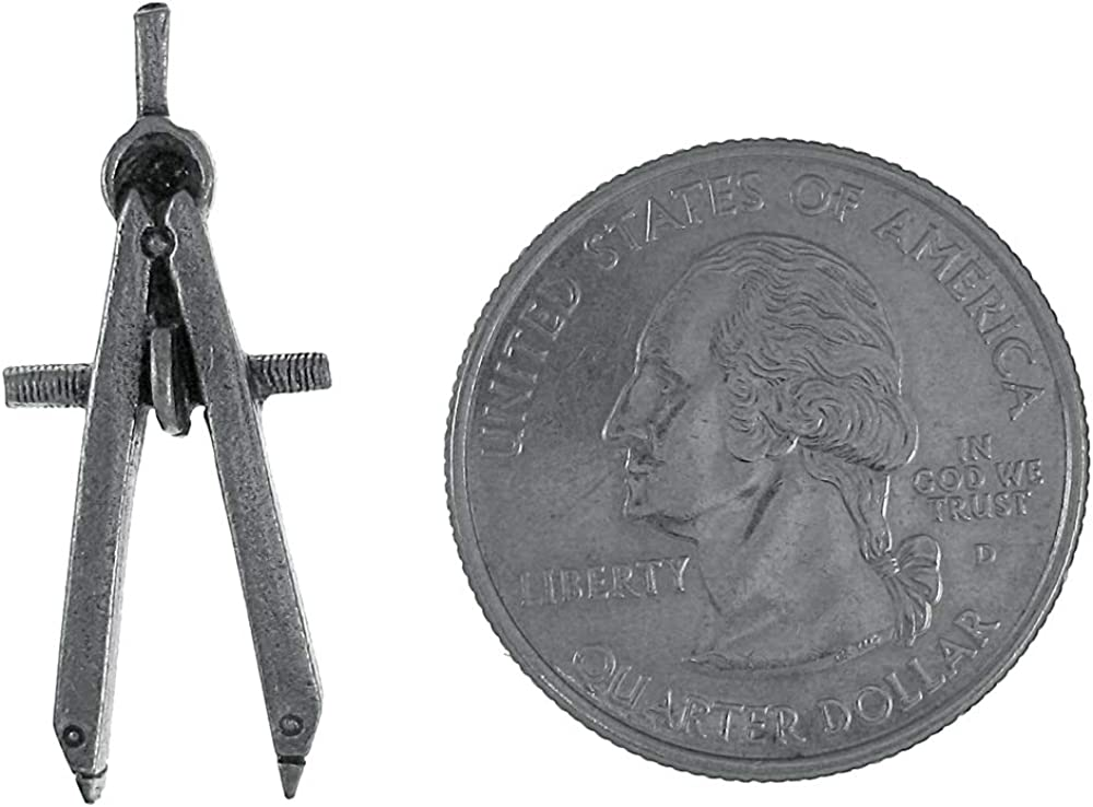 Jim Clift Design Engineering Compass Lapel Pin