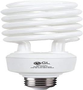 Goodlite G-10877 42-watt Replacement Full Spectrum Compact Fluorescent 2850-Lumen 6500K T4 Spiral Light Bulb, Daylight
