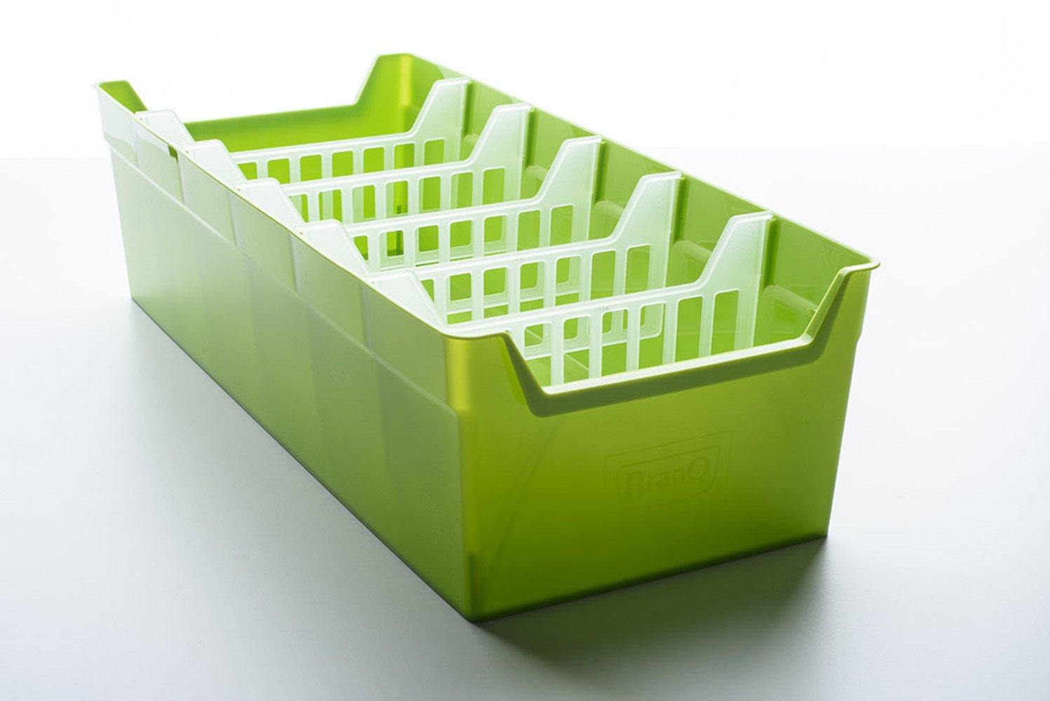 BranQ kitchen organiser, plastic, green, 35x 34.39x 14cm. 5901098164009