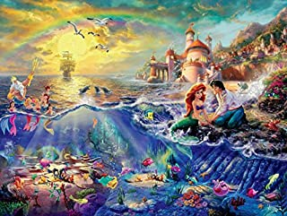 product image for Ceaco Thomas Kinkade The Disney Collection The Little Mermaid Jigsaw Puzzle, 750 Pieces