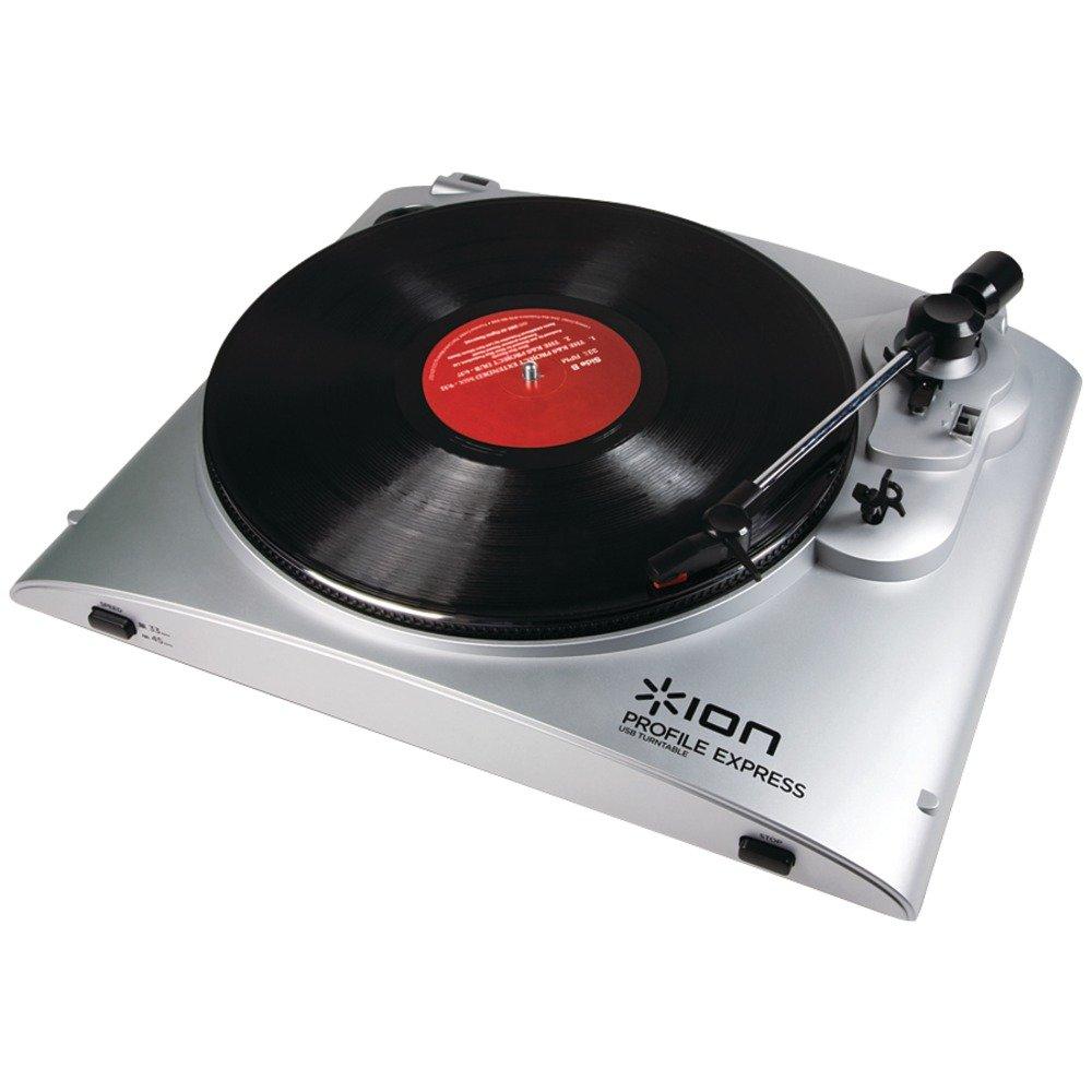 ION Audio de perfiles Express Tocadiscos USB: Amazon.es: Electrónica
