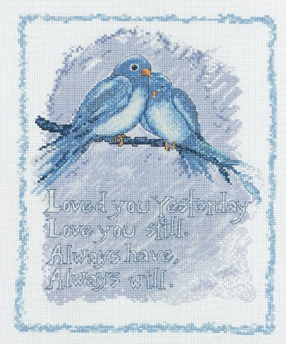 Bucilla Counted Cross Stitch Picture Kits, 45656 Love You Always
