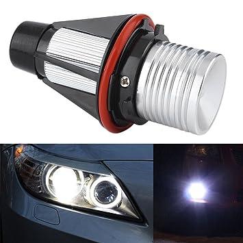 cargool bombilla de LED Angel Eyes halo anillo marcador bombilla super brillante bombillas para faros delanteros