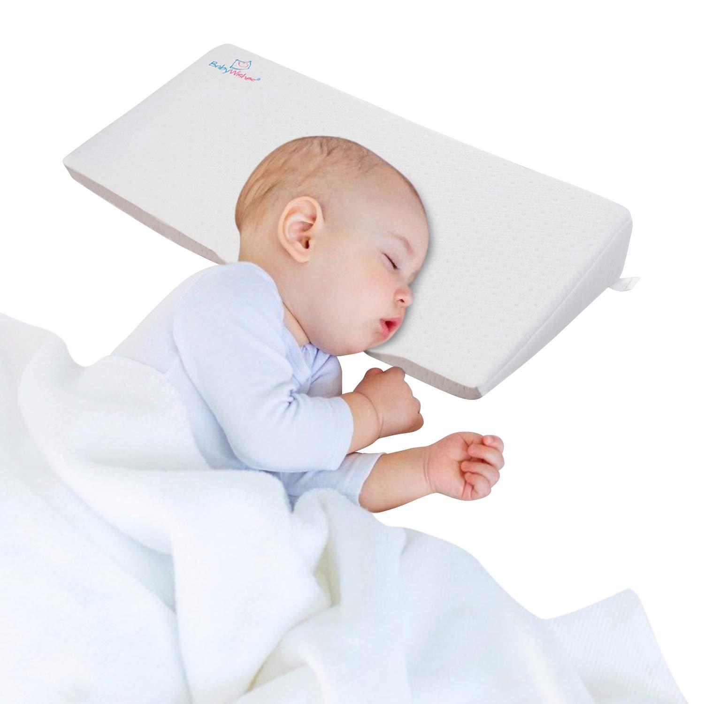 Aurelius Universal Bassinet Wedge for Baby MattressInfant Sleep Pillow for