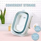 Foldable Baby Bathtub,Infant Bath Shower
