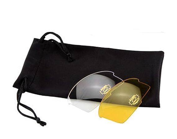 Lunettes de soleil professionnelles avec 3verres interchangeables fibre de carbone pour vélo UV400Étui et sac 3068rj 4OTOZJIG4