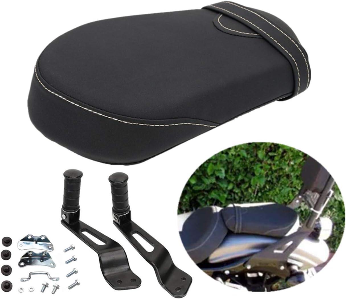 Seat Rear Passenger Foot Pegs Bracket Detachable for Yamaha Bolt XVS950 R-Spec 2014-2018 1TP-F47E0-T0-00