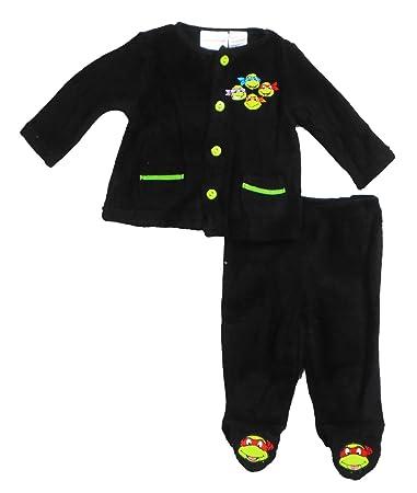 Amazon.com: Nickelodeon tortuga ninja pijama chamarra de 2 ...