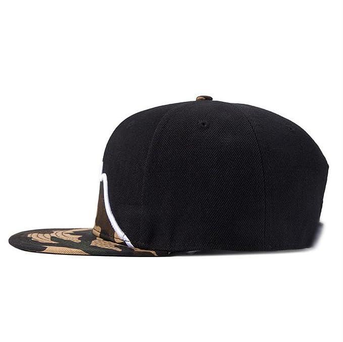 37b010b5b0aa5 LINNUO Snapback Bordado Gorras de Béisbol Ajustable Sombrero Camuflaje Hip  Hop Cap Hombres Mujeres jJNypa2Xr