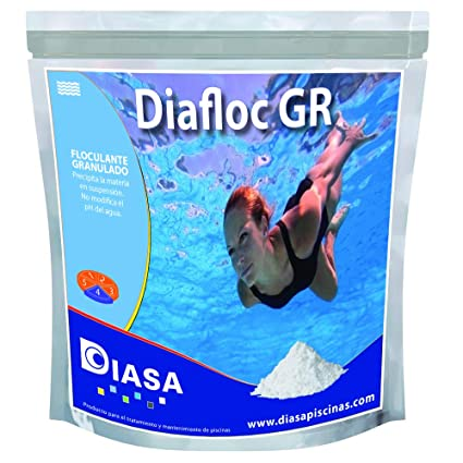 AVANT POOL Diafloc GR: floculante granulado. Bolsa Zip 1 Kgr ...