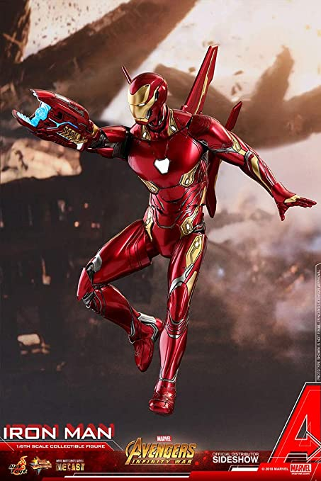 Hot Toys Marvel Avengers Infinity War Iron Man Mark L 50 Diecast 1/6 Scale  Figure