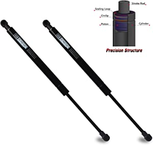 Beneges 2PCs Front Hood Struts Compatible with 2003-2013 Land Rover LR3, 2009-2013 Land Rover LR4, 2003-2013 Land Rover Range Rover Sport Lift Supports Shocks Dampers Gas Spring 6358, SG387004