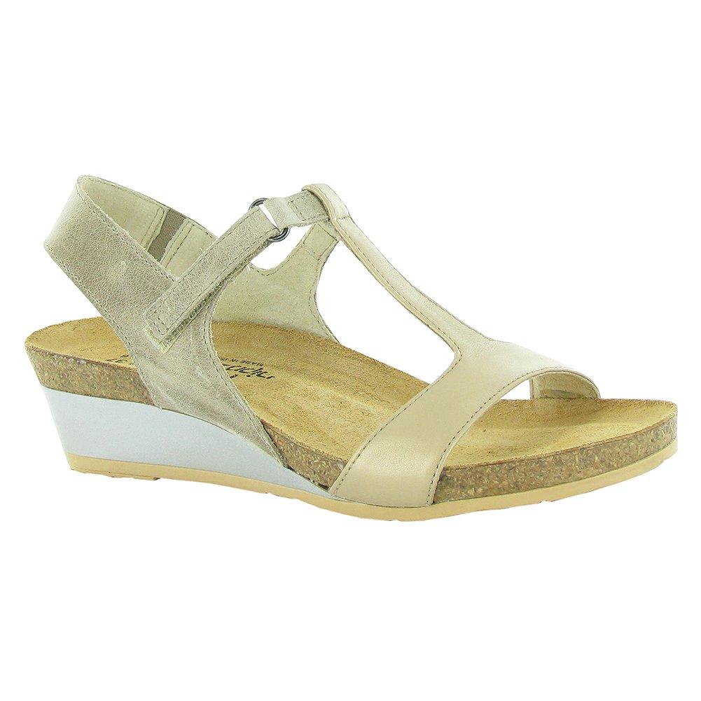 NAOT Unicorn Fantasy Women Sandals B01MF9S5Y8 36 M EU Khaki Beige/Champagne Lthr