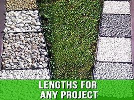 20 sarcia.eu Flexible plastic lawn edging with Securing Pegs Anchor Flexible Lawn Edging