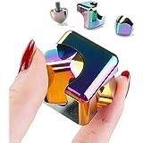 YAH Cube Spinner Anti-ansiedad Ayuda a enfocar Juguetes inQuietos Premium Calidad CNC metálicos Focus Juguete para niños y ad