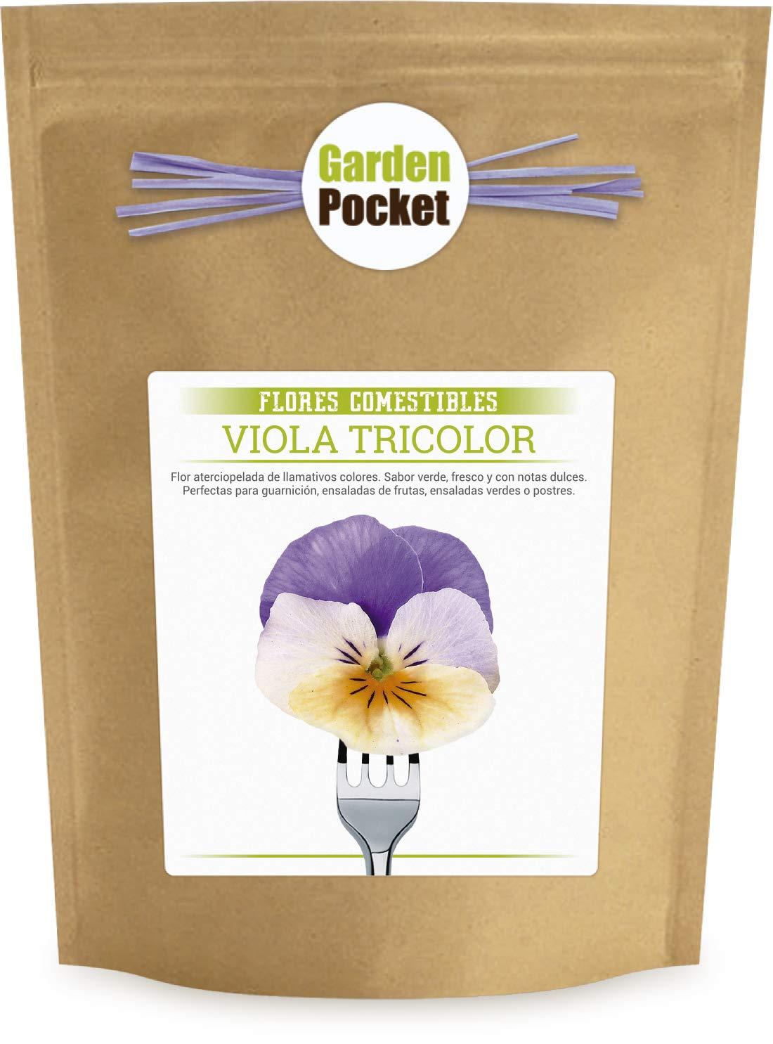 Kit cultivo Flores Comestibles - Pensamientos Garden Pocket