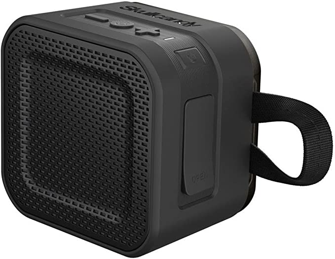 Gray//Hot Lime 10-Hour Battery Life and 33 Foot Wireless Range Skullcandy Barricade XL Bluetooth Wireless Portable Speaker Impact Resistant Waterproof and Buoyant