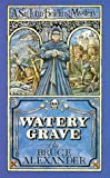 Front cover for the book Watery Grave by Bruce Alexander
