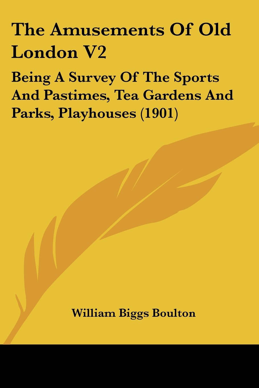 Download The Amusements Of Old London V2: Being A Survey Of The Sports And Pastimes, Tea Gardens And Parks, Playhouses (1901) pdf