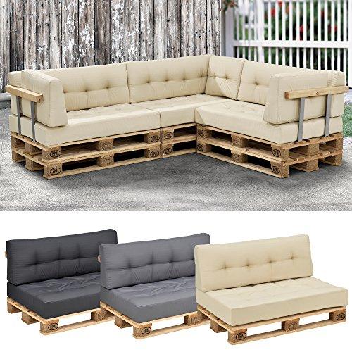 Euro pallet sofa 1 x back rest cushion pad outdoor indoor garden furniture - Hacer cojines sofa ...