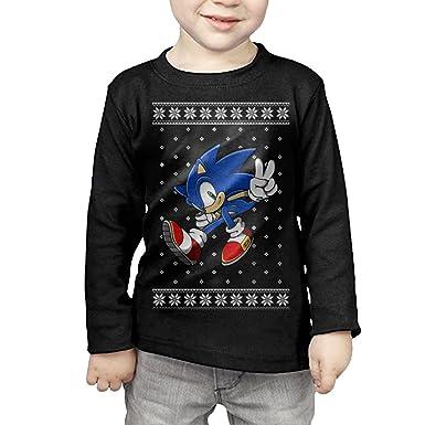 Amazoncom Fox Boysgirls Classic Sonic Ugly Christmas Sweater